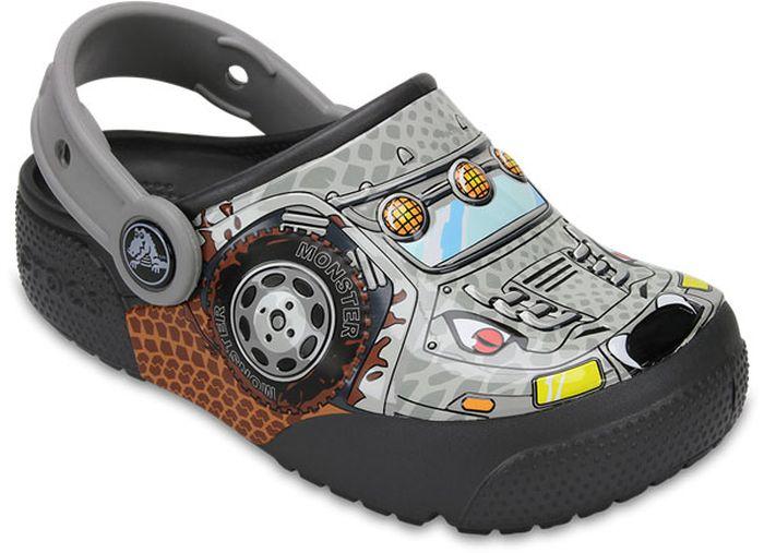 Сабо для мальчика Crocs, цвет: серый. 204133-942. Размер C13 (30)204133-942Сабо Crocs придутся вашему ребенку по душе. Рифленое основание подошвы гарантирует идеальное сцепление с любой поверхностью. Такие сабо - отличное решение для каждодневного использования!