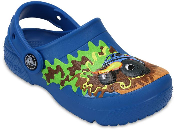 Сабо для мальчика Crocs, цвет: синий. 204119-945. Размер C13 (30)204119-945Сабо Crocs придутся по душе вашему ребенку. Рельефная поверхность верхней части подошвы комфортна при движении. Рифленое основание подошвы гарантирует идеальное сцепление с любой поверхностью. Такие сабо - отличное решение для каждодневного использования!