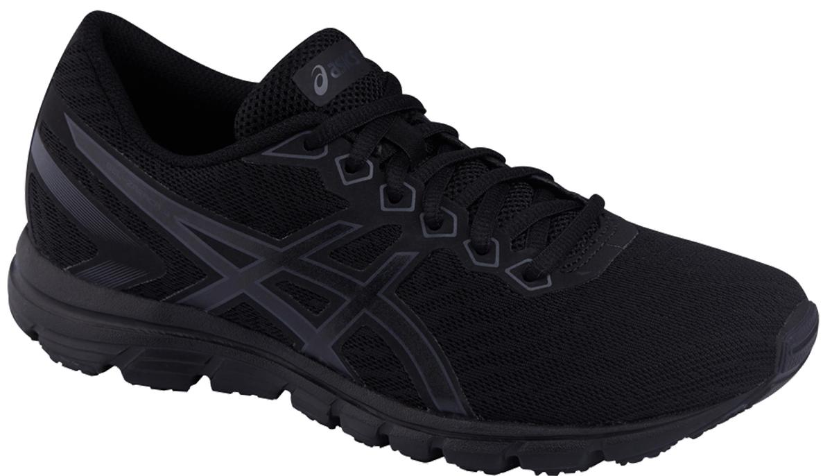 Кроссовки для бега женские Asics Gel-Zaraca 5, цвет: черный, серый. T6G8N-9095. Размер 7 (36,5)T6G8N-9095Женские беговые кроссовки дадут отличный старт вашим пробежкам и тренировкам в спортзале. Благодаря амортизации вы будете чувствовать себя комфортно и на асфальте, и на беговой дорожке. Дышащая сетка дарит ногам ощущение прохлады. Спринтерский образ благодаря стилю, заимствованному из мира скоростного бега. Ощущение прохлады во время бега благодаря новому сетчатому верху. Комфорт благодаря отличной амортизации.