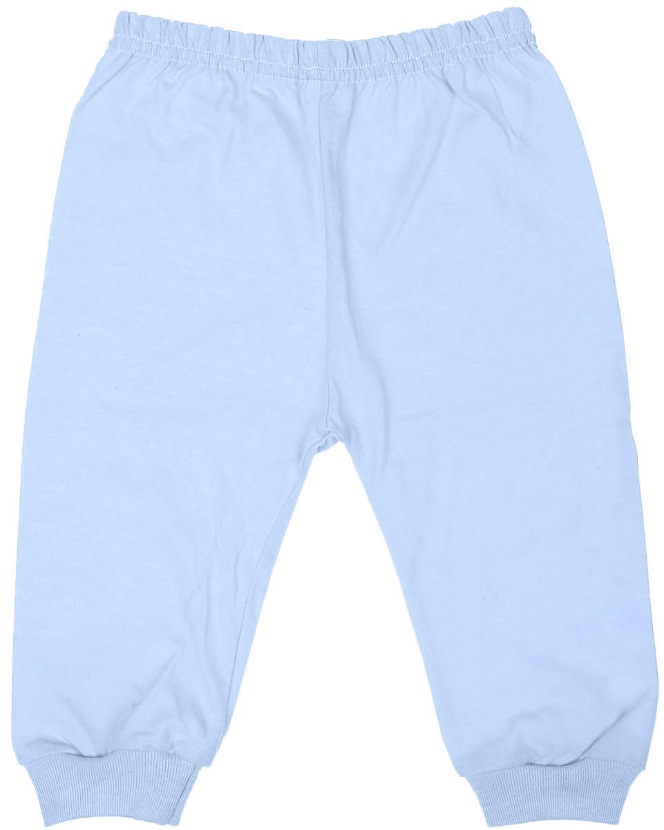 Штанишки детские Чудесные одежки, цвет: голубой. 5305. Размер 745305Детские штанишки Чудесные одежки выполнены из натурального хлопка, благодаря чему великолепно пропускают воздух и обеспечивают комфорт и удобство, не раздражая нежную детскую кожу. Модель стандартной посадки дополнена эластичной резинкой на талии. Брючины оснащены широкими трикотажными манжетами по низу.