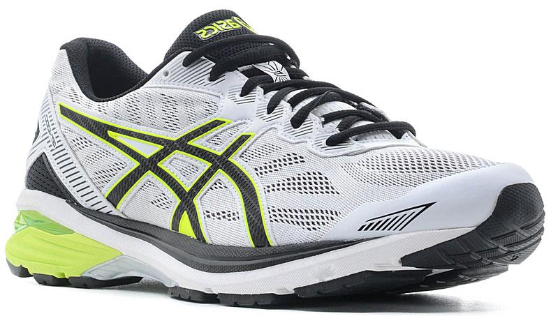 Кроссовки для бега мужские Asics GT-1000 5, цвет: светло-серый, желтый. T6A3N-0107. Размер 9H (42)T6A3N-0107Запланируйте свой следующий полумарафон и готовьтесь к нему в мужских беговых кроссовках GT-1000 5. Поддержка, комфорт и амортизация — все это есть в обуви, которая поможет вам дойти до финиша и подготовиться к следующей дистанции. Кроссовки GT-1000 ощущаются как продолжение вашего тела. Верх модели выполнен из дышащего текстиля, что обеспечивает отличную вентиляцию. За счет уменьшения количества слоев верх идеально облегает стопу и ощущается как вторая кожа. Классическая шнуровка надежно зафиксирует изделие на ноге. Технология стабилизации препятствует подворачиванию стопы с самого начала забега, помогая вам повысить выносливость и сохранить темп. Каждое приземление станет мягче благодаря амортизации GEL в передней и задней части. Стопа находится под контролем с момента касания земли и до самого толчка. Вы получите необходимую поддержку для комфортного преодоления длинных дистанций.