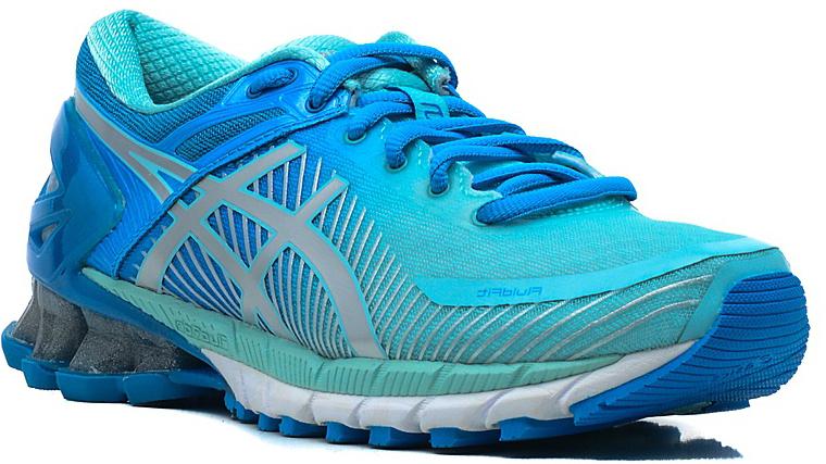 Кроссовки для бега женские Asics Gel-Kinsei 6, цвет: голубой. T694N-4393. Размер 8H (38,5)T694N-4393Кроссовки Asics Gel-Kinsei 6 выполнены из искусственной кожи и сетчатого текстиля. Технология FluidFit предоставляет легкость и мягкое приземление при беге. Геометрия межподошвы FluidRide придает отличную амортизацию. Бесшовная конструкция верха с гелевой амортизацией гарантирует высокий уровень комфорта. Детали: шнуровка; внутренний материал и стелька из текстиля; резиновая подошва.