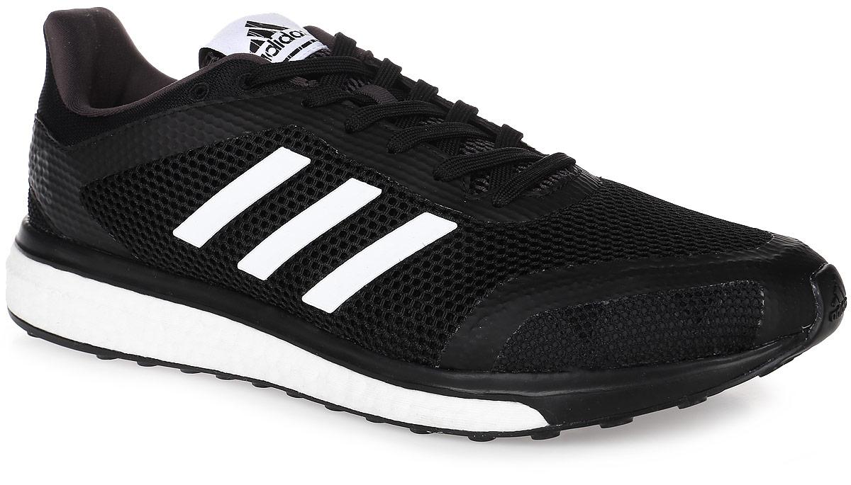 Кроссовки для бега мужские adidas Performance Response + M, цвет: черный, белый. BB2982. Размер 12 (46)BB2982Мужские кроссовки для бега adidas Performance Response + M выполнены из текстиля и оформлены фирменными накладками из полимера. Шнурки надежно зафиксируют модель на ноге. Внутренняя поверхность из сетчатого текстиля комфортна при движении. Стелька выполнена из легкого ЭВА-материала с поверхностью из текстиля.Подошва изготовлена из высококачественной легкой резины и дополнена рельефным рисунком.