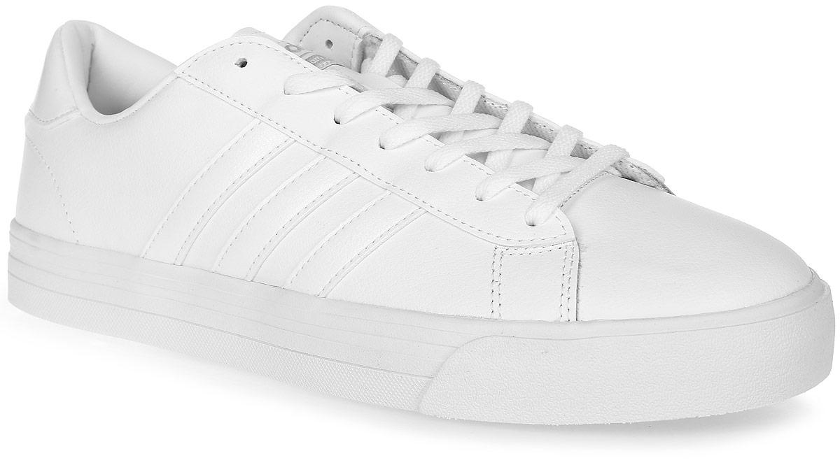 Кроссовки мужские adidas Neo Cloudfoam Super Daily, цвет: белый. AW3903. Размер 11 (44,5)AW3903Мужские кроссовки adidas Neo Cloudfoam Super Daily, выполненные из натуральной и искусственной кожи, оформлены фирменными нашивками и надписями. Шнурки надежно зафиксируют модель на ноге. Внутренняя поверхность из натуральной кожи и текстиля комфортны при движении. Стелька выполнена из легкого ЭВА-материала с поверхностью из текстиля и оснащена технологией Cloudfoam Memory, благодаря которой стелька плотно прилегает к стопе, обеспечивая безупречный комфорт. Подошва Cloudfoam Super с ультрамягкими вставками изготовлена из высококачественной резины и дополнена рельефным рисунком.