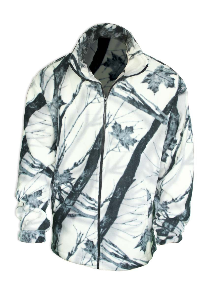 Куртка охотничья Fisherman Комфорт, цвет: зимний лес. 55176. Размер 56/58КомфортФлисовая куртка Комфорт отлично заменит шерстяной свитер или кофту. Куртка имеет разъемную молнию, высокий воротник и два глубоких кармана. Низ куртки регулируется при помощи резинки и стопора. Изготавливается из ткани Polar fleece плотностью 300 гр\м2.Polar fleece это: трикотажная ткань с двухсторонним ворсом: особо износоустойчивым с наружной стороны - Polar и очень мягким и комфортным с внутренней - fleece. Лучший современный заменитель шерсти, дышащий и не вызывающий аллергии.Основные достоинства и преимущества: высокоэффективная теплозащита; мягкость и комфорт при прикосновении; отлично впитывает влагу и не холодит тело при намокании, как одежда из хлопка; быстро высыхает после намокания – быстрее, чем хлопок или шерсть; не обладает усадкой после стирки; не растягивается и не теряет форму в процессе эксплуатации.