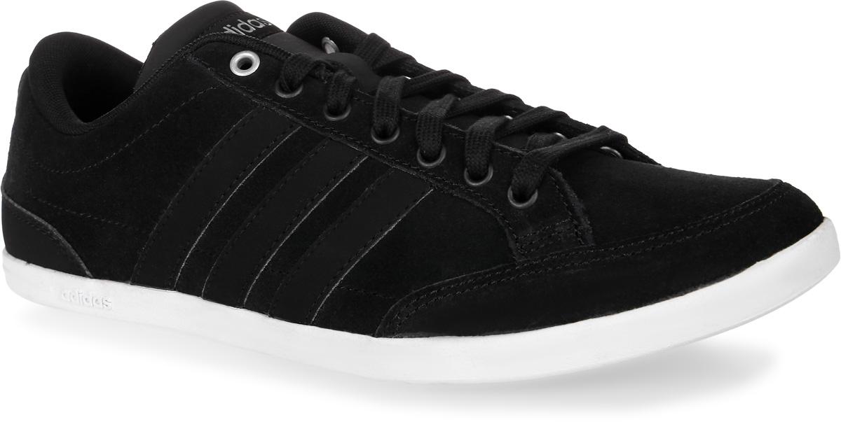 Кроссовки мужские adidas Neo Caflaire, цвет: черный. B74609. Размер 6 (38)B74609Мужские кроссовки adidas Neo Caflaire выполнены из натуральной замши и оформлены фирменными нашивками из искусственной кожи. Шнурки надежно зафиксируют модель на ноге. Внутренняя поверхность из текстиля комфортна при движении. Стелька выполнена из легкого ЭВА-материала с поверхностью из текстиля. Подошва изготовлена из высококачественной резины и дополнена рельефным рисунком.