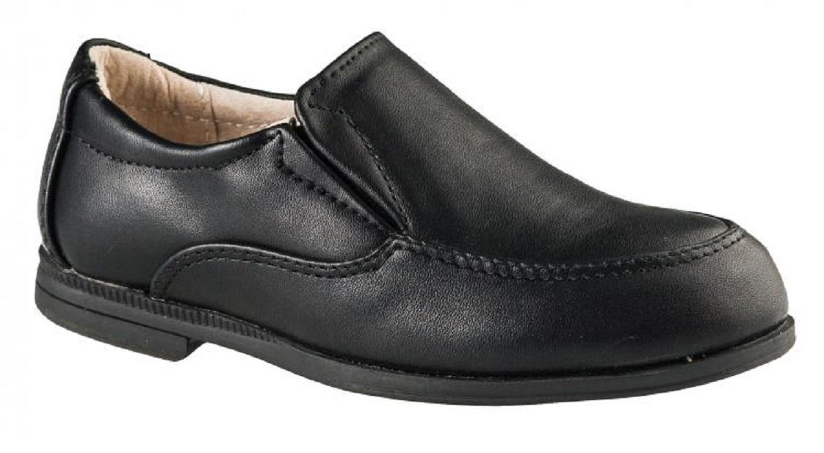 Туфли для мальчика BiKi, цвет: черный. A-B72-64-A. Размер 30A-B72-64-AСтильные и удобные туфли от BiKi не оставят равнодушным вашего мальчика! Модель изготовлена из искусственной кожи и оформлена прострочками. Эластичные вставки по бокам обеспечивают идеальную посадку модели на ноге. Подкладка и стелька из натуральной кожи не натирают. Каблук и подошва с рифлением обеспечивают отличное сцепление с любой поверхностью. Комфортные туфли лаконичного дизайна идеально подойдут для повседневной носки и в качестве сменной обуви.