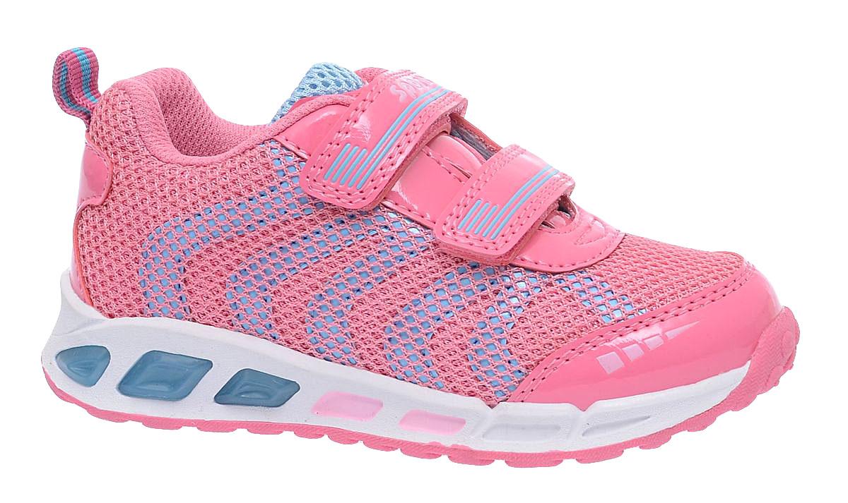Кроссовки для девочки BiKi, цвет: розовый, голубой. A-B80-77-B. Размер 32A-B80-77-BЯркие кроссовки от фирмы BiKi придутся по душе юной моднице! Модель изготовлена из сетчатого текстиля и искусственной кожи. На заднике предусмотрена текстильная петелька для удобства обувания. Подошва оформлена цветными вставками. Ремешки на застежке-липучке надежно фиксируют изделие на ноге. Внутренняя отделка из текстиля и натуральной кожи обеспечивает комфорт при носке. Подошва с рифлением гарантирует отличное сцепление с любыми поверхностями. Стильные кроссовки займут достойное место в гардеробе вашей девочки.