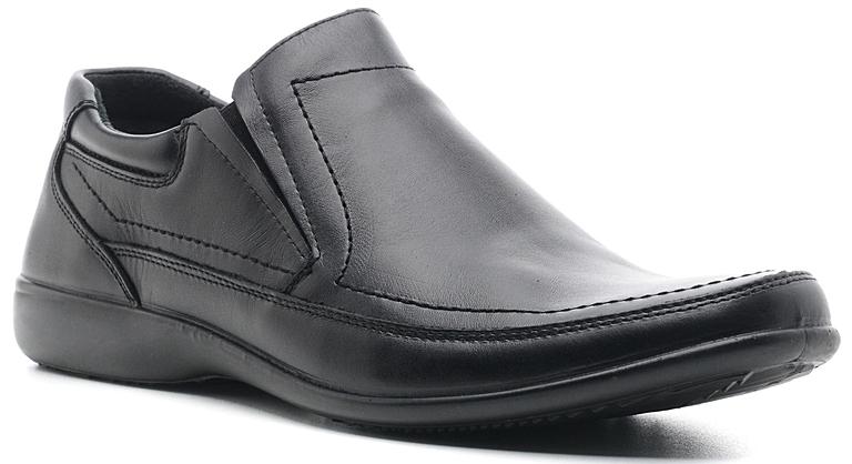 Полуботинки мужские Marko, цвет: черный. 4766. Размер 444766Стильные мужские полуботинки отлично дополнят ваш деловой образ.Модель выполнена из высококачественной натуральной кожи. Резинки, расположенные на подъеме, обеспечивают оптимальную посадку модели на ноге. Кожаная стелька с супинатором обеспечивает максимальный комфорт при движении. Подошва с рифлением обеспечивают отличное сцепление с поверхностью.