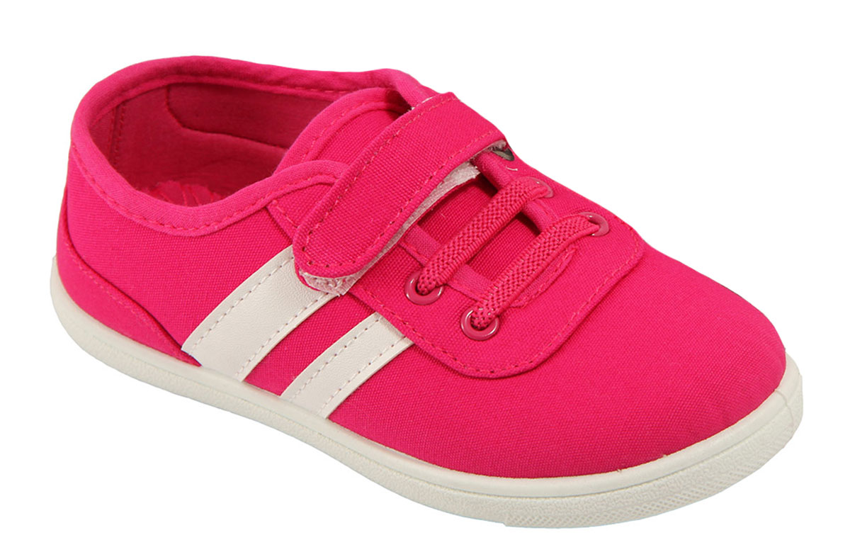 Кеды детские In Step, цвет: ярко-розовый. 160-3-6. Размер 31160-3-6