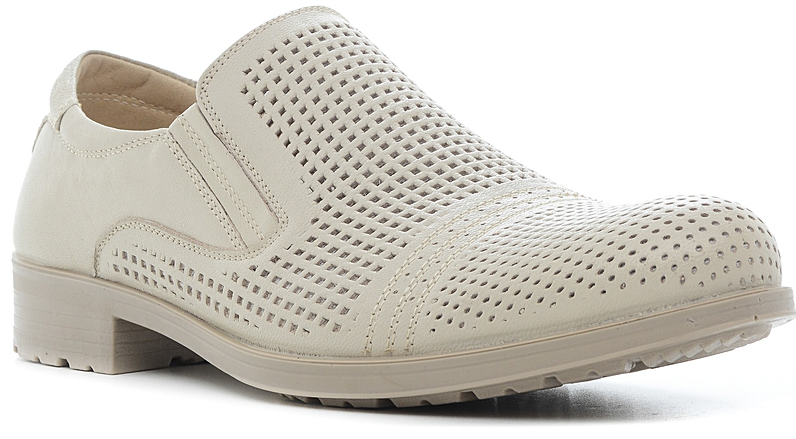 Туфли мужские Marko, цвет: светло-бежевый. 44111. Размер 4544111Элегантные мужские туфли отлично дополнят ваш деловой образ.Модель выполнена из высококачественной натуральной кожи. Резинки, расположенные на подъеме, обеспечивают оптимальную посадку модели на ноге. Кожаная стелька с супинатором обеспечивает максимальный комфорт при движении. Умеренной высоты каблук и подошва с рифлением обеспечивают отличное сцепление с поверхностью.