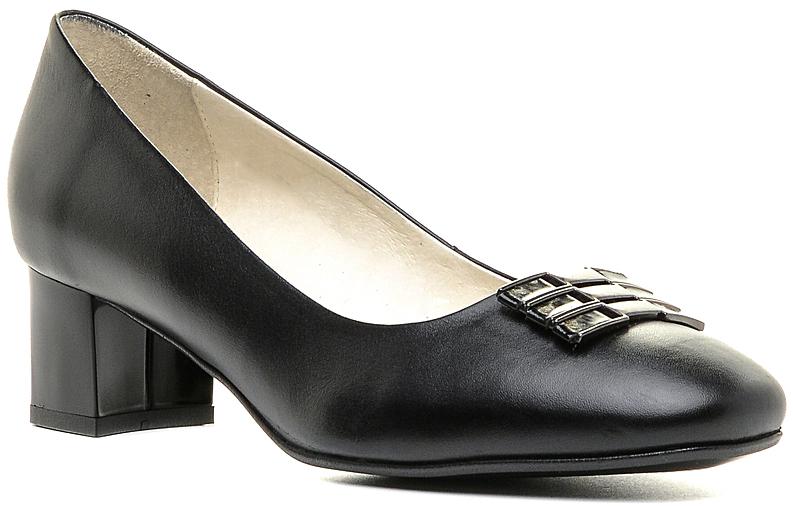Туфли женские Marko, цвет: черный. 131271. Размер 36131271Элегантные туфли на невысоком каблуке, выполненные из натуральной кожи. Внутренняя поверхность и стелька из натуральной кожи обеспечат комфорт при движении. Эти туфли можно сочетать с самыми разнообразными вещами вашего гардероба, в них вашим ногам будет комфортно и уютно.