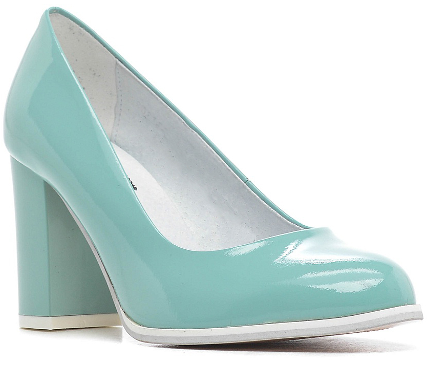 Туфли женские Marko, цвет: мятный. 131358. Размер 36131358Элегантные туфли на каблуке, выполненные из натуральной лакированной кожи. Внутренняя поверхность и стелька из натуральной кожи обеспечат комфорт при движении. Эти туфли можно сочетать с самыми разнообразными вещами вашего гардероба, в них вашим ногам будет комфортно и уютно.