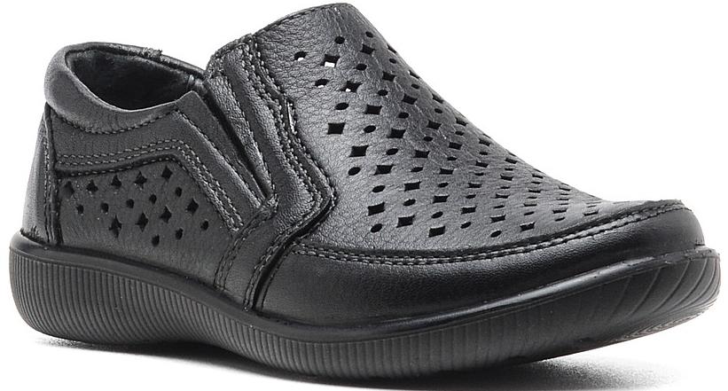 Туфли для мальчика San Marko, цвет: черный. 5429. Размер 305429Стильные туфли для мальчика от San Marko выполнены из натуральной кожи. Эластичные вставки по бокам обеспечивают идеальную посадку модели на ноге. Внутренняя поверхность и стелька из натуральной кожи обеспечат комфорт при движении. Подошва дополнена рифлением.