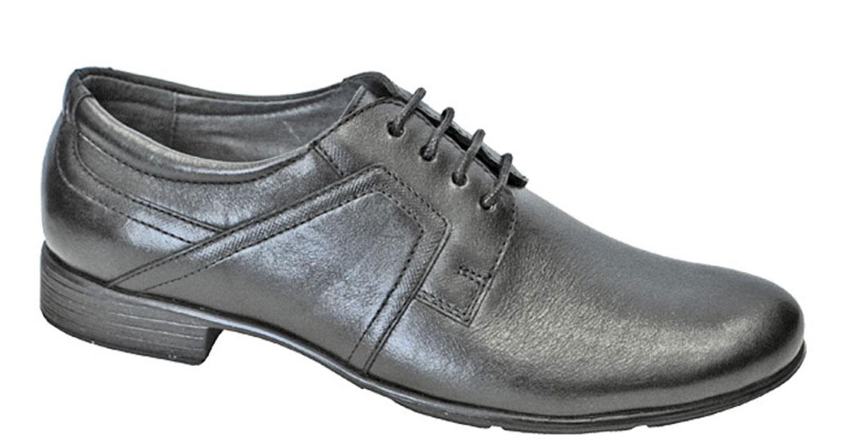 Туфли для мальчика San Marko, цвет: черный. 063296. Размер 36063296Модные туфли для мальчика выполнены из высококачественной натуральной кожи. Классическая шнуровка на подъеме обеспечивает оптимальную посадку модели на ноге. Кожаная стелька с супинатором обеспечивает максимальный комфорт при движении. Подошва с рифлением обеспечивают отличное сцепление с поверхностью.