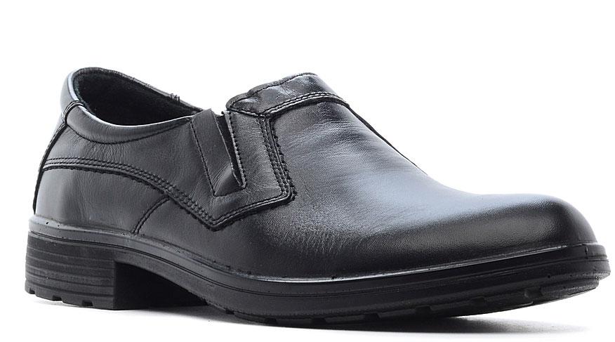 Полуботинки мужские Marko, цвет: черный. 43024. Размер 4343024Элегантные мужские полуботинки от Marko отлично дополнят ваш деловой образ.Модель выполнена из высококачественной натуральной кожи. Резинки, расположенные на подъеме, обеспечивают оптимальную посадку модели на ноге. Кожаная стелька с супинатором обеспечивает максимальный комфорт при движении. Подошва с рифлением обеспечивают отличное сцепление с поверхностью.