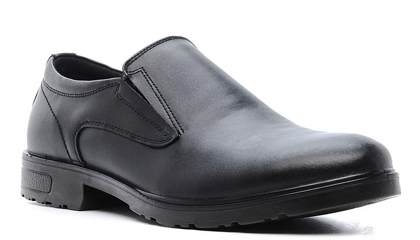 Полуботинки мужские Marko, цвет: черный. 47149. Размер 4147149Элегантные мужские полуботинки отлично дополнят ваш деловой образ.Модель выполнена из высококачественной натуральной кожи. Резинки, расположенные на подъеме, обеспечивают оптимальную посадку модели на ноге. Кожаная стелька с супинатором обеспечивает максимальный комфорт при движении. Подошва оснащена рифлением.