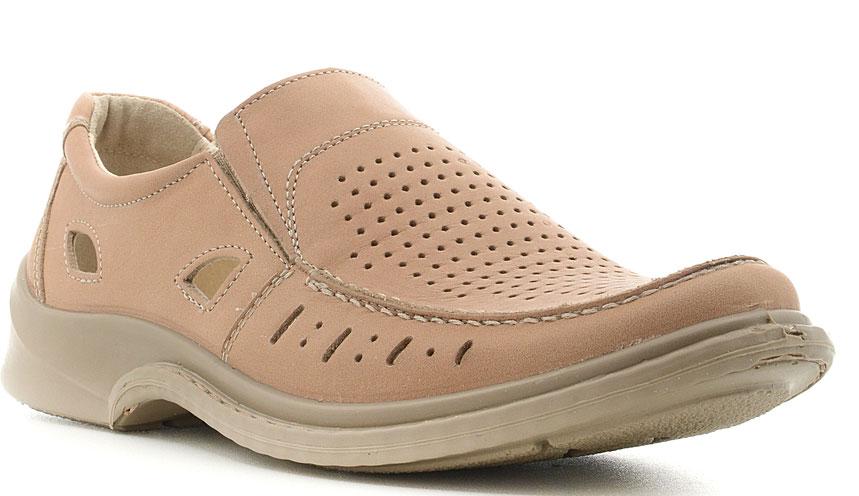 Туфли мужские Marko, цвет: бежевый. 4442. Размер 404442Элегантные мужские туфли отлично дополнят ваш деловой образ.Модель выполнена из высококачественной натуральной кожи. Резинки, расположенные на подъеме, обеспечивают оптимальную посадку модели на ноге. Кожаная стелька с супинатором обеспечивает максимальный комфорт при движении. Подошва с рифлением обеспечивают отличное сцепление с поверхностью.