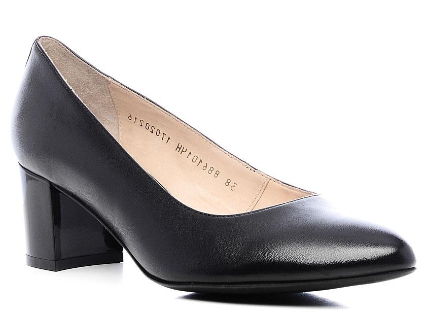 Туфли женские Ralf Ringer Agnia, цвет: черный. 886101ЧН. Размер 41886101ЧНКожаные туфли Agnia — сочетание женственности и делового стиля. Строгие линии, прямоугольный каблук, отсутствие изысков — все это делает туфли соответствующими дресс-коду. Необходимая обувь в деловом гардеробе успешной и уверенной в себе женщины. Отлично сочетаются с зауженными брюками и блузками широкой гаммы цветов.