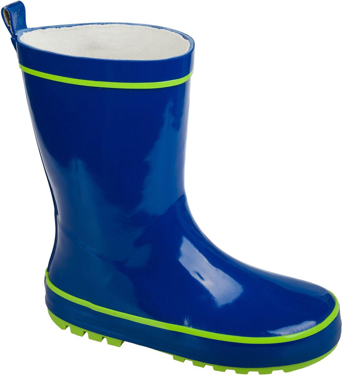 Сапоги резиновые для мальчика Mursu, цвет: синий. 101442. Размер 31101442Резиновые сапоги от фирмы Mursu выполнены из качественной резины. Хлопковая подкладка и стелька сохранят тепло и обеспечат полный уют и комфорт при носке. Рельефная резиновая подошва устойчива к истиранию и гарантирует отличное сцепление с любой поверхностью. Такие практичные резиновые сапоги займут достойное место в гардеробе вашего ребенка.