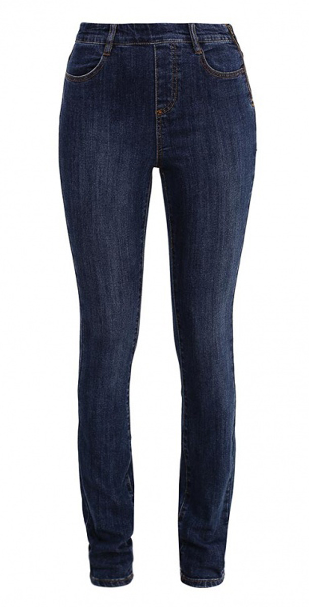 Джинсы женские Sela Denim, цвет: темно-синий джинс. PJ-135/593-7161. Размер 25-32 (40-32)PJ-135/593-7161Стильные джинсы Sela, изготовленные из качественного эластичного хлопка, станут отличным дополнением вашего гардероба. Джинсы прилегающего кроя и завышенной посадки на талии застегиваются сбоку на металлическую застежку-молнию. На поясе имеются шлевки для ремня. Модель дополнена двумя втачными карманами спереди и двумя накладными карманами сзади.