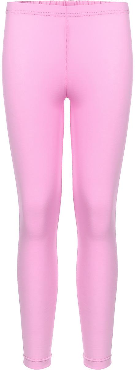 Леггинсы для девочки КотМарКот, цвет: розовый. 22842. Размер 116, 6 лет22842Леггинсы для девочки КотМарКот изготовлены из натурального хлопка. Леггинсы имеют широкую эластичную резинку на поясе. Изделие великолепно тянется.
