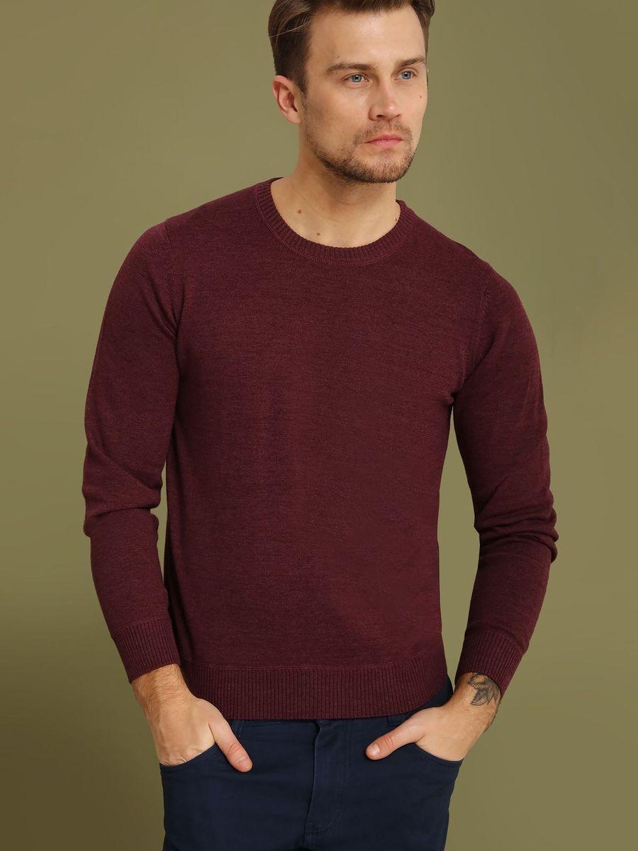Джемпер мужской Top Secret, цвет: бордовый. SSW2101CES. Размер M (48)SSW2101CESДжемпер мужской Top Secret выполнен из хлопка. Модель с круглым вырезом горловины и длинными рукавами.