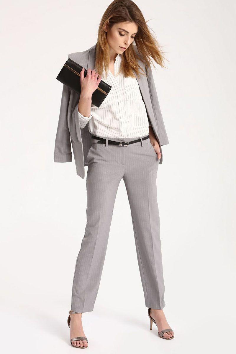 Брюки женские Top Secret, цвет: светло-серый. SSP2429GB. Размер 40 (48)SSP2429GBСтильные женские брюки Top Secret - брюки высочайшего качества на каждый день, которые прекрасно сидят. Модель изготовлена из высококачественного комбинированного материала. Эти модные и в тоже время комфортные брюки послужат отличным дополнением к вашему гардеробу. В них вы всегда будете чувствовать себя уютно и комфортно.