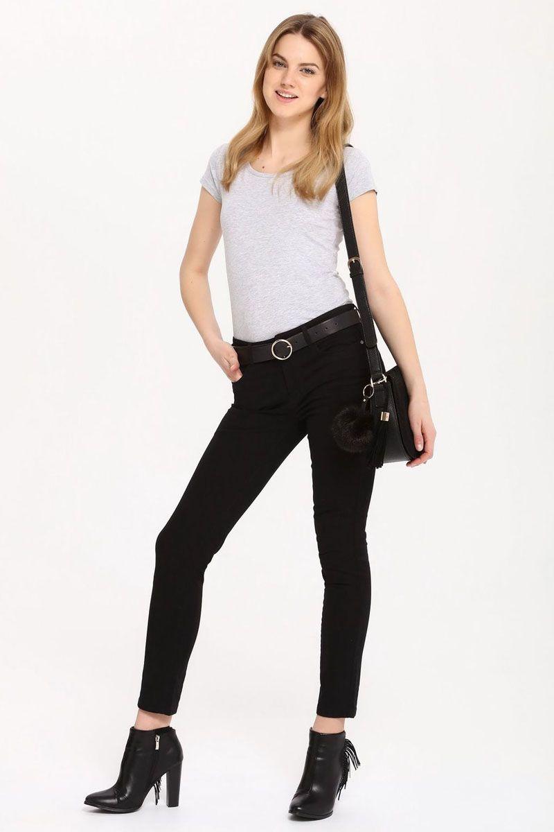 Брюки женские Top Secret, цвет: черный. SSP2411CA. Размер 42 (50)SSP2411CAСтильные женские брюки Top Secret - брюки высочайшего качества на каждый день, которые прекрасно сидят. Модель изготовлена из высококачественного хлопка и эластана. Эти модные и в тоже время комфортные брюки послужат отличным дополнением к вашему гардеробу. В них вы всегда будете чувствовать себя уютно и комфортно.