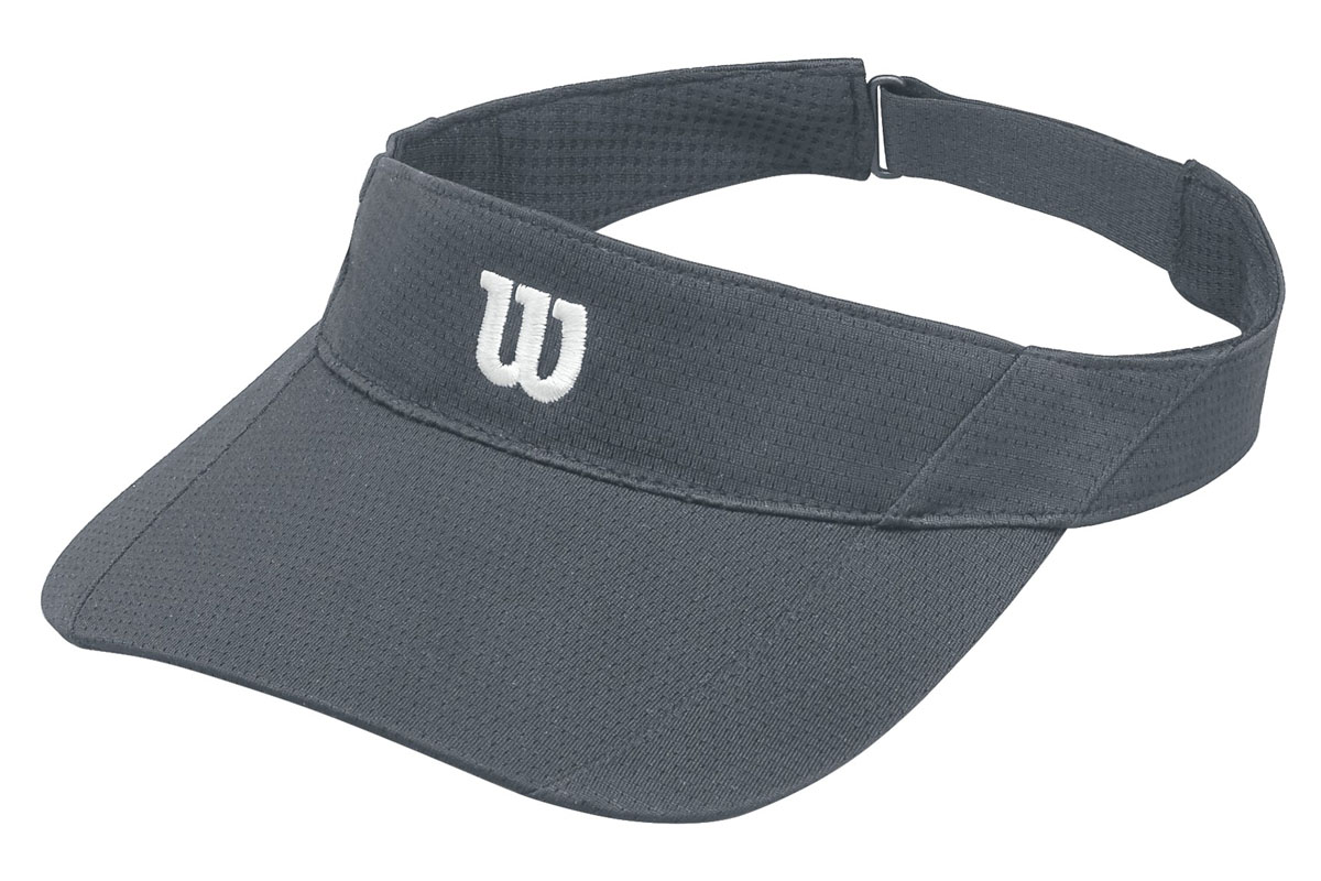 Козырек для тенниса Wilson Rush Knit Visor Ultralight, цвет: серый. WR5005003. Размер универсальныйWR5005003Стильный теннисный козырек от Wilson удобен для защиты от прямых солнечных лучей во время игры в теннис.