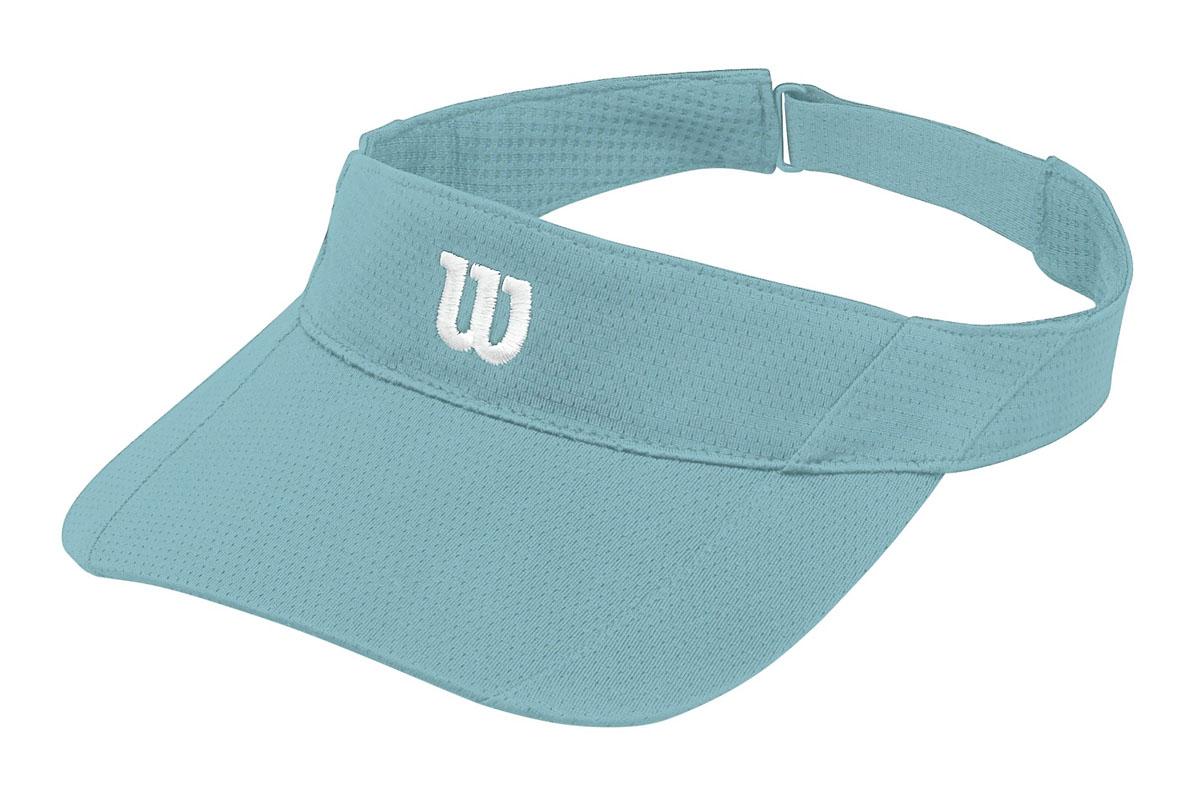 Козырек для тенниса Wilson Rush Knit Visor Ultralight, цвет: бирюзовый. WR5005004. Размер универсальныйWR5005004Стильный теннисный козырек от Wilson удобен для защиты от прямых солнечных лучей во время игры в теннис.