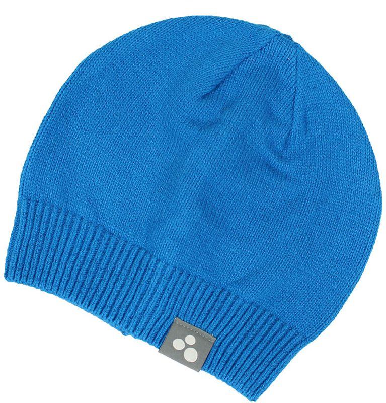 Шапка для мальчика Huppa Boris, цвет: голубой. 80090000-70046. Размер S (47/49)80090000-70046Теплая вязаная шапочка Huppa Boris согреет вашего ребенка в прохладную погоду. Шапочка изготовлена из натурального хлопка и акрила.