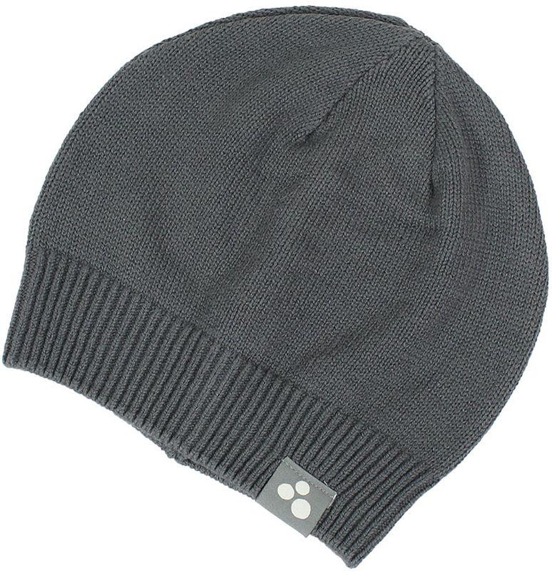 Шапка для мальчика Huppa Boris, цвет: серый. 80090000-70048. Размер S (47/49)80090000-70048Теплая вязаная шапочка Huppa Boris согреет вашего ребенка в прохладную погоду. Шапочка изготовлена из натурального хлопка и акрила.