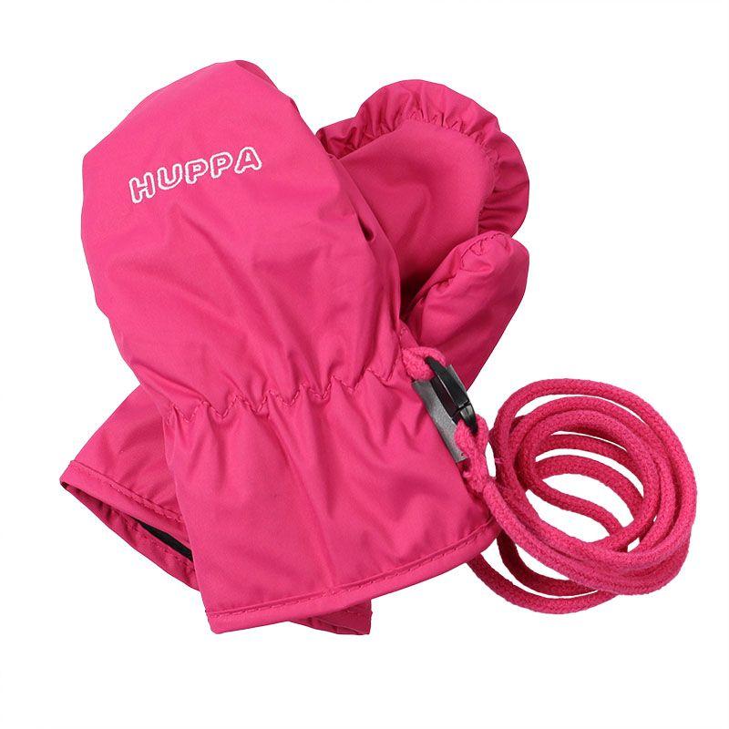 Варежки для девочки Huppa Fifi, цвет: фуксия. 8106BASE-063. Размер 28106BASE-063Детские варежки Huppa Liina, изготовленные из высококачественного полиэстера, станут идеальным вариантом, для холодной зимней погоды. Варежки дополнены длинным шнурком.