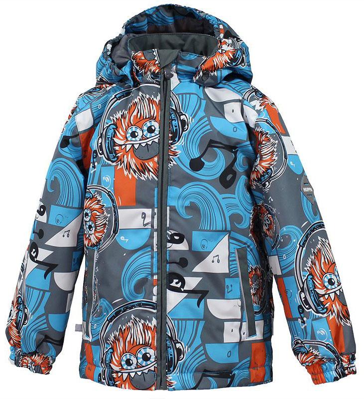 Куртка для мальчика Huppa Jody, цвет: голубой, серый, оранжевый. 17000004-73146. Размер 14017000004-73146Куртка с подкладкой для мальчика Huppa c длинными рукавами, воротником-стойкой и съемным капюшоном, выполнена из высококачественного водонепроницаемого и ветрозащитного материала на основе полиэстера. Модель застегивается на застежку-молнию с защитой подбородка спереди. Изделие имеет два прорезных кармана на застежках-молниях. Манжеты рукавов собраны на внутренние резинки. Модель оформлена оригинальным контрастным принтом. На изделии имеются светоотражательные элементы для безопасности в темное время суток.