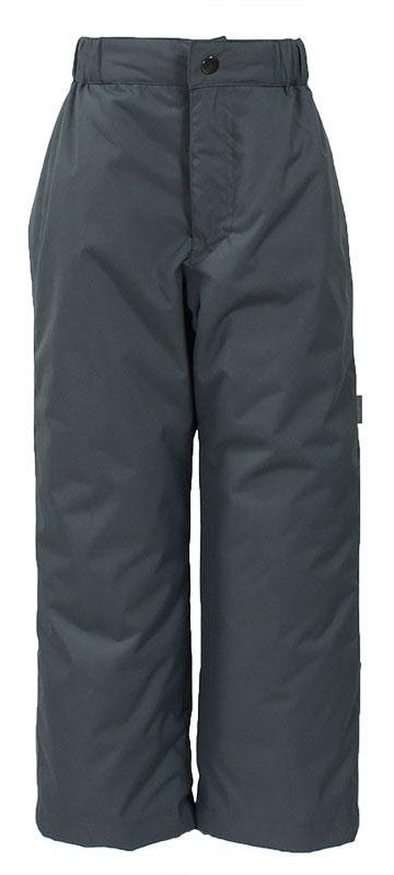 Брюки утепленные детские Huppa Tevin 1, цвет: темно-серый. 21770104-00048. Размер 14021770104-00048Утепленные детские брюки Huppa прямого кроя выполнены из износостойкого полиэстера. Брюки застегиваются на пластиковую молнию и пуговицу. Ткань на талии собрана на внутреннюю резинку.