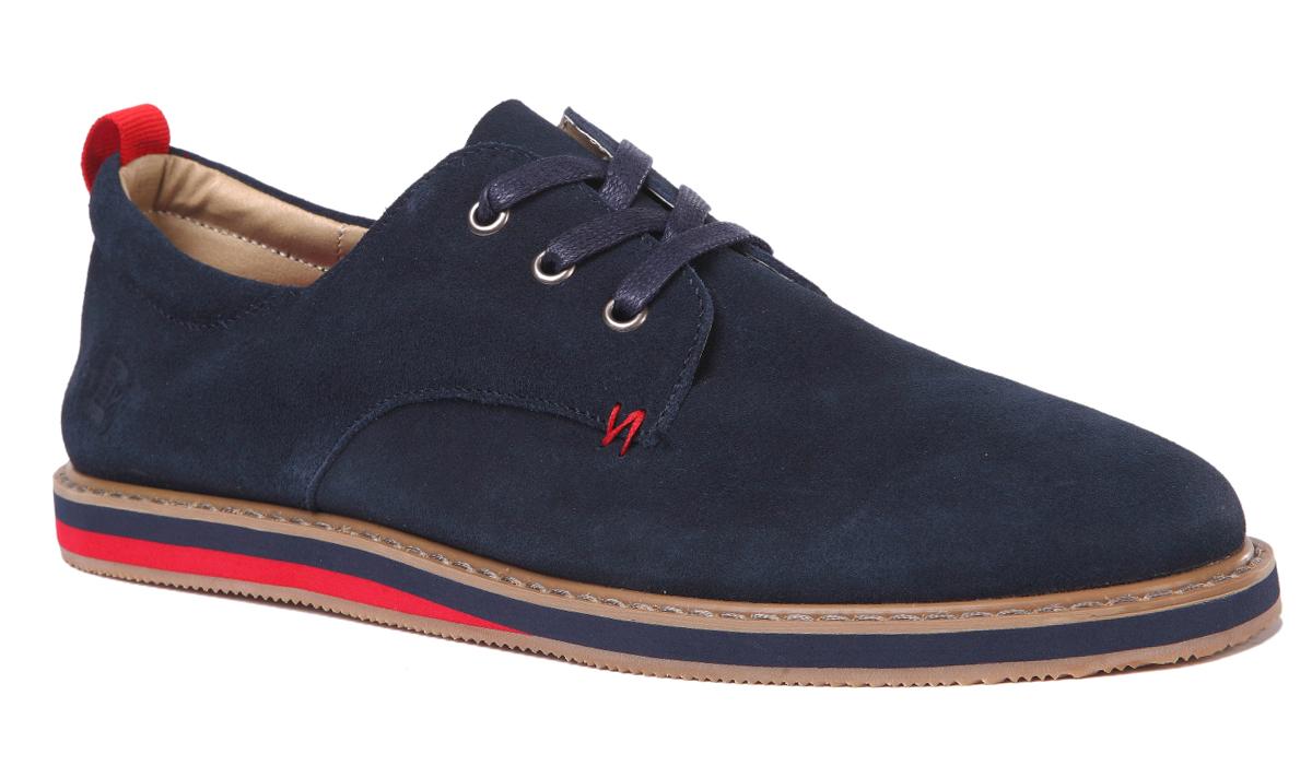 Полуботинки мужские Un1ta, цвет: синий. U643-2Z. Размер 41U643-2ZМодные мужские полуботинки от Un1ta покорят вас своим удобством. Модель выполнена из замши. Удобная шнуровка надежно фиксирует обувь на ноге. Стелька из натуральной кожи обеспечит комфорт при ходьбе.Подошва дополнена противоскользящим рифлением и оформлена декоративной вставкой. Стильные полуботинки прекрасно впишутся в ваш гардероб.