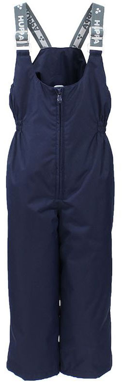 Брюки утепленные детские Huppa Jorma, цвет: темно-синий. 26470010-00086. Размер 9226470010-00086Утепленные детские брюки Huppa Jorma прямого кроя с завышенной грудкой выполнены из износостойкого полиэстера. В качестве подкладки и утеплителя используется качественный полиэстер.Брюки застегиваются на высокую пластиковую молнию, на талии имеется вшитая эластичная резинка. Брюки оснащены несъемными резиновыми подтяжками, длину которых можно регулировать. По низу брючин предусмотрены шнурки-утяжки со стопперами. Изделие дополнено светоотражающими элементами.