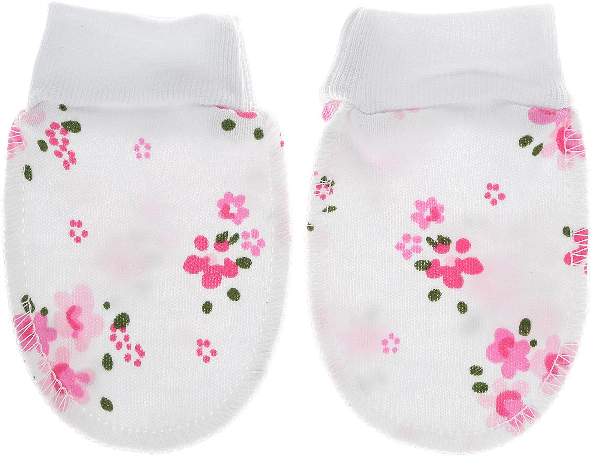 Рукавички для новорожденного Трон-плюс, цвет: белый, розовый, зеленый. 5916_ОЗ14_цветы. Размер 62, 3 месяца5916_ОЗ14_цветыРукавички для новорожденного Трон-плюс обеспечат вашему ребенку комфорт во время сна и бодрствования, предохраняя нежную кожу от царапин. Изделие изготовлено из натурального хлопка, отлично пропускает воздух, обеспечивая комфорт. Швы выполнены наружу, что будет для малыша особенно удобным. Рукавички имеют широкие эластичные манжеты, которые не пережимают ручку ребенка. Модель оформлена цветочным принтом.Мягкие рукавички сделают сон вашего ребенка спокойным и безопасным.