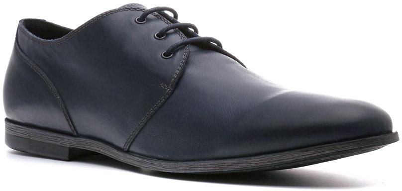 Туфли мужские Ralf Ringer Cavalier, цвет: темно-синий. 544107СН. Размер 41544107СНПусть они просты, неказисты и не имеют декоративных изысков. Облегченные туфли Cavalier линии Weekend изготовлены не на один день. Они добротны, чрезвычайно легки и удобны в носке.