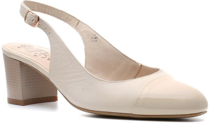 Туфли женские Ralf Ringer Agnia, цвет: бежевый. 886102СБ. Размер 40886102СБОткрытые кожаные туфли Agnia — идеальное сочетание женственности и летнего делового стиля. Строгие линии, прямоугольный каблук, отсутствие изысков (из украшений только узкая полоска набойки на каблуке) — все это делает туфли соответствующими дресс-коду. Необходимая обувь в деловом гардеробе успешной и уверенной в себе женщины.