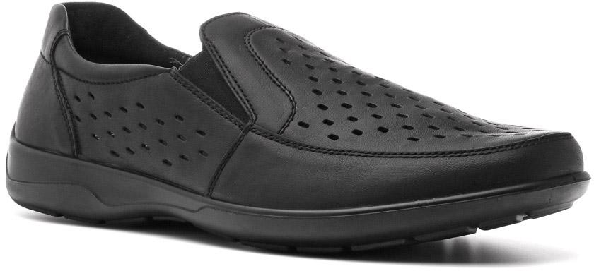 Полуботинки мужские Ralf Ringer Ray, цвет: черный. 582114ЧН. Размер 43582114ЧНПолуботинки Ray линии Weekend — это стильная, прочная, надежная и качественная классическая обувь. Натуральная кожа, полиуретановая подошва, стелька Comfort System, отсутствие подкладки и крупная перфорация делают эти полубоинки легкими и комфортными.
