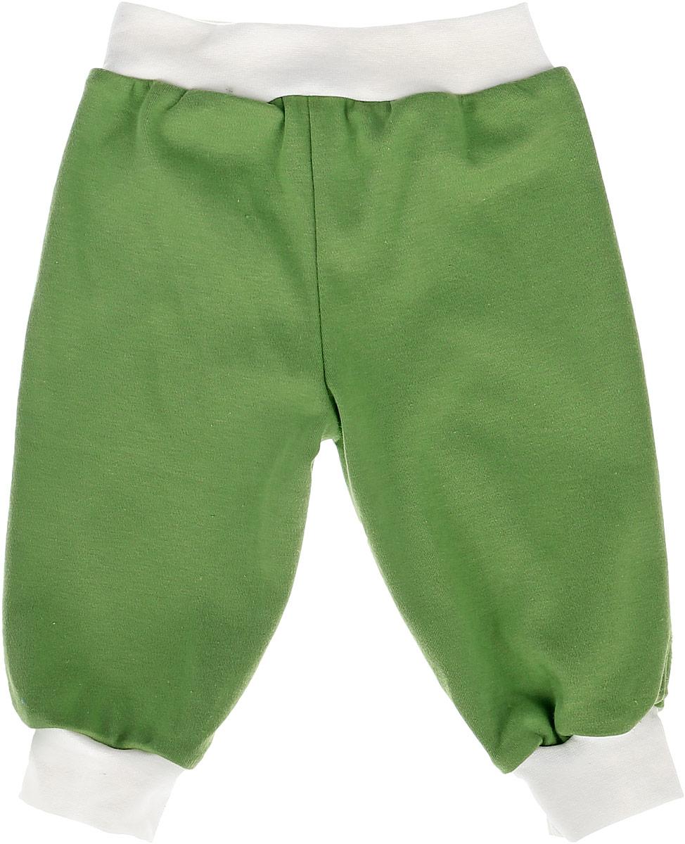 Штанишки для мальчика КотМарКот, цвет: зеленый. 5865. Размер 62, 3-6 мес5865Удобные штанишки для мальчика КотМарКот на широком поясе станут отличным дополнением к гардеробу вашего малыша. Изготовленные из натурального хлопка, они необычайно мягкие и легкие.Штанишки, благодаря мягкому эластичному поясу, не сдавливают животик ребенка и не сползают, обеспечивая ему наибольший комфорт. Внизу штаны дополнены крупными резинками, для того чтобы крепко держались на ножке.