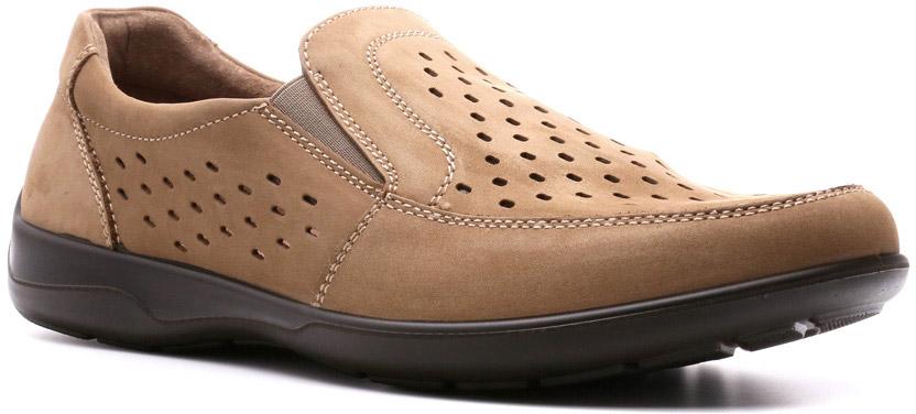 Полуботинки мужские Ralf Ringer Ray, цвет: бежевый. 582114ОЛ. Размер 40582114ОЛПолуботинки Ray линии Weekend — это стильная, прочная, надежная и качественная классическая обувь. Натуральная кожа, полиуретановая подошва, стелька Comfort System, отсутствие подкладки и крупная перфорация делают эти полубоинки легкими и комфортными.