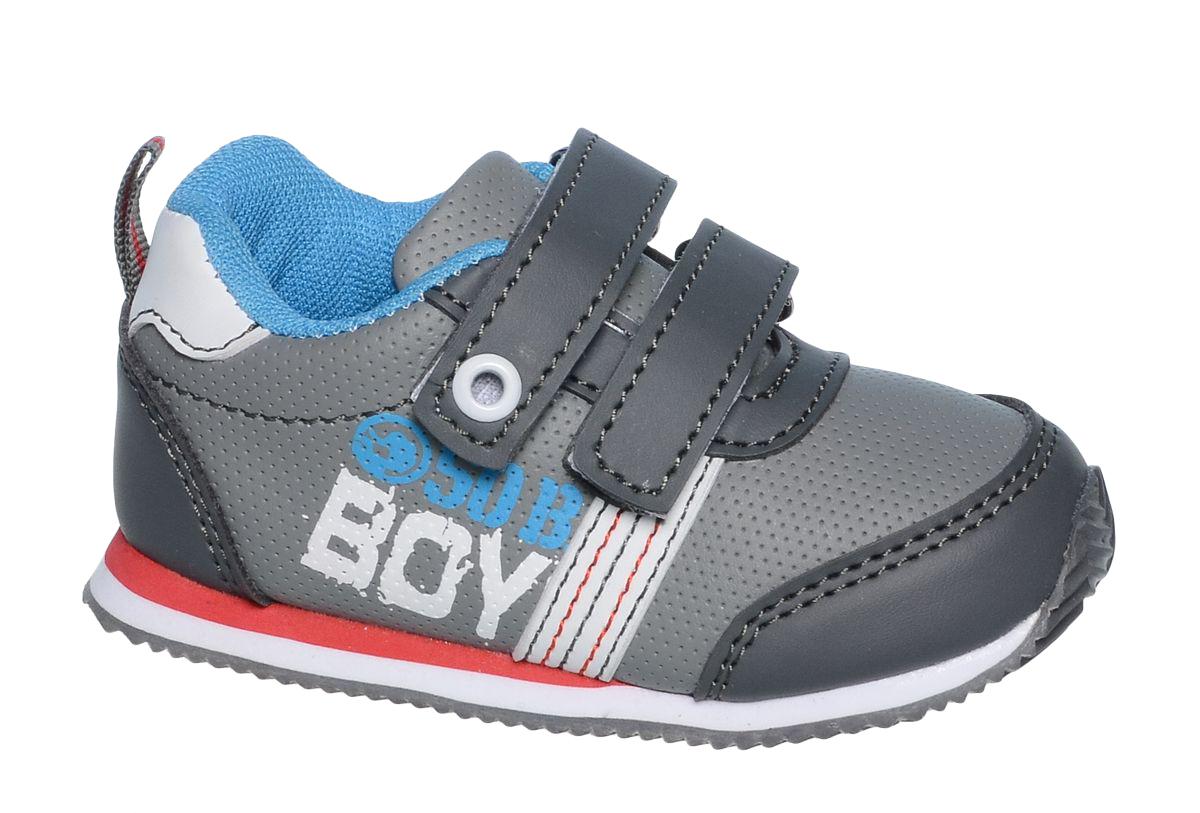 Кроссовки для мальчика Tom&Miki, цвет: серый. B-1047. Размер 25B-1047-CКроссовки для мальчика Tom&Miki изготовлены из качественной искусственной кожи. Липучки надежно зафиксируют обувь на ноге. Мягкая подкладка выполнена из кожи и текстиля. Подошва оснащена рифлением для лучшего сцепления с различными поверхностями. Такие кроссовки - отличный вариант на каждый день.