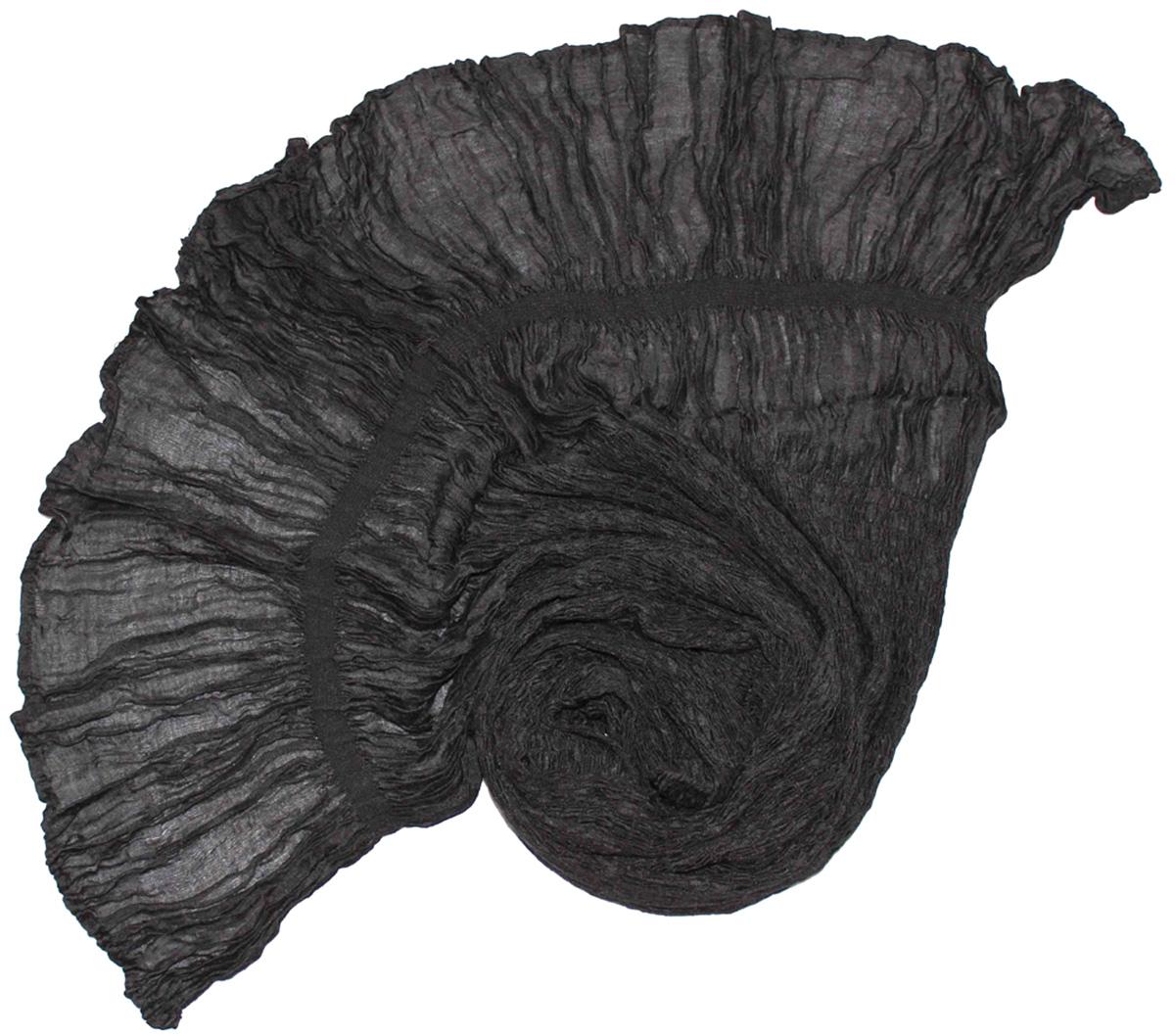 Шарф женский Ethnica, цвет: черный. 788180. Размер 25 см х 170 см788180Женский шарф Ethnica, изготовленный из 100% шелка, подчеркнет вашу индивидуальность. Благодаря своему составу, он легкий, мягкий и приятный на ощупь. Изделие выполнено в однотонном дизайне.Такой аксессуар станет стильным дополнением к гардеробу современной женщины.
