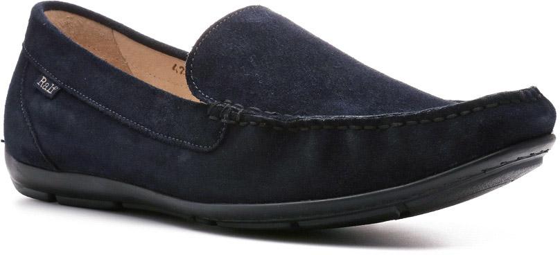 Мокасины мужские Ralf Ringer Shark, цвет: темно-синий. 581101СН. Размер 42581101СНМокасины для мужчин Shark линии Weekend дополнят любой гардероб прочной, износостойкой, чрезвычайно удобной обувью, которую придумали древние индейцы. В самую большую жару невесомая подошва из эластомера, тончайшая кожа, клеепрошивной способ крепления обеспечат ноге максимальный комфорт. С такой обувью расстаться невозможно!