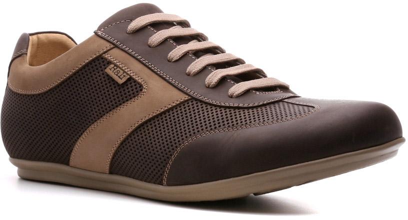 Полуботинки мужские Ralf Ringer Nevil, цвет: коричневый. 543102КН. Размер 44543102КНЭкстравагантно выглядят демисезонные полуботинки Nevil линии Weekend. Они прочны, износостойкие. Модельерам обуви удалось достичь в ней максимально возможных удобств и хорошей вентилируемости, что сделало эту пару обувью на весь день. Особенность модели — двухцветный дизайн, в котором совмещены декоративные возможности кожи и нубука.