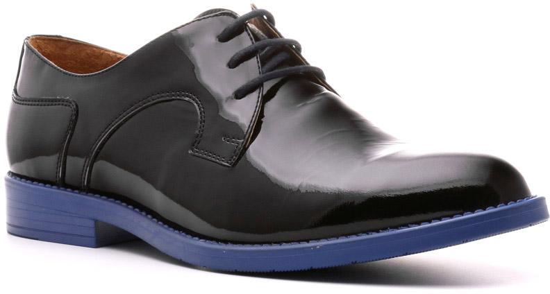 Полуботинки женские Ralf Ringer Stella, цвет: черный. 967107ЧС. Размер 38967107ЧСЛаковые полуботинки Stella — великолепное воплощение концепции шик и контраст женской обуви трендовой линии Modern. Это обувь для креативных женщин, ломающих стереотипы. Сочетание цветов обеспечивают широкое поле для самых смелых комбинаций гардероба и необычных образов.