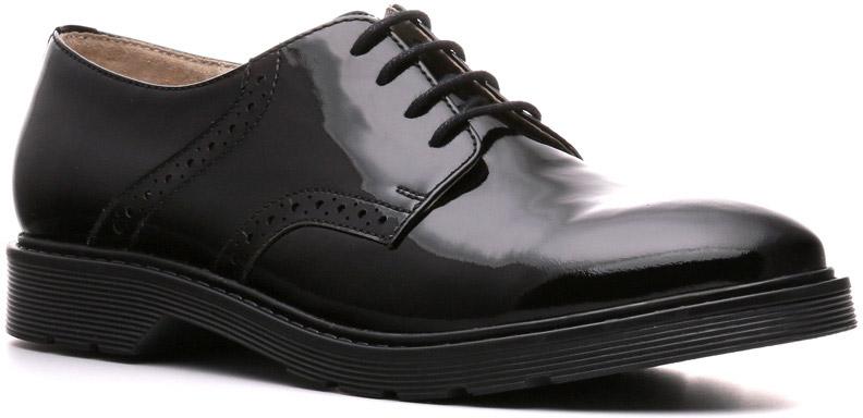 Полуботинки женские Ralf Ringer Letty, цвет: черный. 882101ЧЛ. Размер 38882101ЧЛБотинки Letty выглядят дорого и респектабельно. Утолщенная ТЭП подошва делает их по-настоящему демисезонными. Низкий каблук, оригинальный мысок шнуровка в 4 ряда, дозированная перфорация на берцах выглядят по-особенному стильно, не лишая обувь женственности. Модель способна составить конкуренцию представителям линии Business.